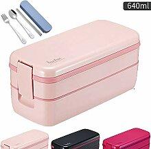 GWLGWL Bento Box Lunchbox Für Erwachsene Lunch