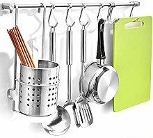 GWLGWL Küchenreling Küchenutensilienhalter
