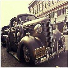 Gwrdnjpjc Fototapete Nostalgie Großes Auto