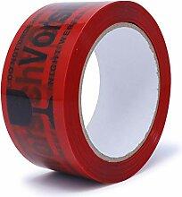 gws Paketband Vorsicht Glas Rot PP leise |