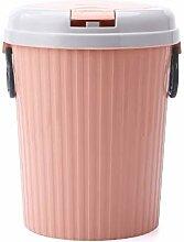 GWW Kunststoff-runde Papierkorb,Große kapazität