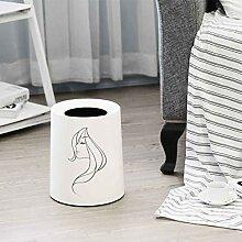 GWW Kunststoffe Mülleimer Ohne