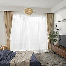 GWW Schlafzimmer-Blackout Vorhang,Volltonfarbe