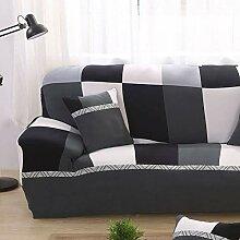 GX&XD Plaid Sofabezug Mit Elastische Gurte,volle