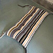GX&XD Stripe Lounge Stuhlkissen,Folding Gesteppter