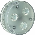 GX53 LED Leuchtmittel, 3x1,4W, warmweisse LED,