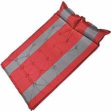 GxNI Aufblasbare Pad Outdoor Camping Doppel Automatische Aufblasbare Pad Verdickung Kann Gespleißt Wasserdicht Kissen Mittagessen Matte Aufblasbare Bett Pad , B