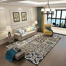 GXQ American Country Vintage Teppich Wohnzimmer