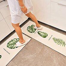 GXQ Lange Teppich Küche Wasserdicht Und Ölmatte Badezimmer Bad rutschfeste Saugfähigen Matte Haushalt Bodenmatte (Farbe : A, größe : 50x80cm(20x31inch))
