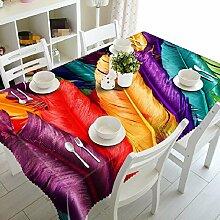 GY&H Elegantes staubdichtes Nachttisch Abdeckungstuch 3d Umweltschutz Mehrzweckhausdekoration Tischdecke(A1),H,80cm*150cm