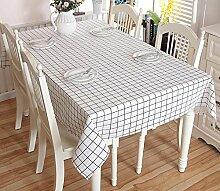 GY&H Spitze Baumwolle und Leinen rechteckigen Couchtisch, Esstisch Heimtextilien Outdoor Picknick Tischdecke Multi-Size,white,140X140CM
