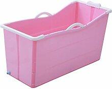 GY Tragbar Faltende Badewanne, Erwachsene Größe