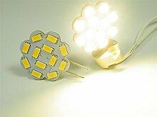 Gy6.35 LED Leuchtmittel 12x5630 SMDs Blume warm
