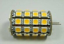 GY6,35 LED Leuchtmittel 49x3-Chip Zylinder warm