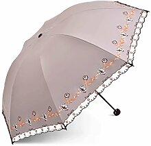 GYB Regenschirm Sonnenschirm UV Schutz Regenschirm