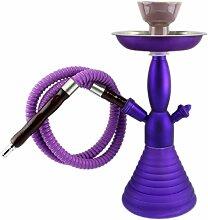 GYD Ultra Violett Shisha One-Hand-Shisha komplett für den direkten Einsatz.