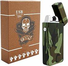 GYD USB Feuerzeug, Teslaflamme, Bundeswehr, Armee,