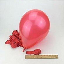 GYFC 2 Stücke 10 Zoll Milch Weiß Latex Ballon