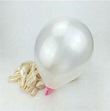 GYFC 2 Stücke 10 Zoll Rose Perle Latex Ballons 21