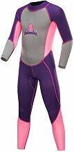 GYFY Kinder-Sonnenschutz-Badeanzug mit Langen
