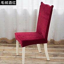 GYJZ Continental Hülse Tischdecken Stuhlkissen Stuhlhussen vier Sätze Stuhl Stuhl , 5