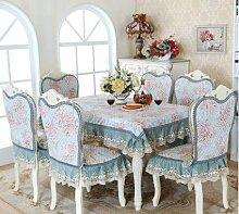 GYJZ Kaffeetischtuch Tischtuch Tischdecke Stuhl Kissen Stuhl Sitzbezug-Sets , C , 150*200
