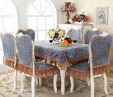 GYJZ Tischdecken Stuhlkissen Stuhl legt die Tischdecke Beläge , D