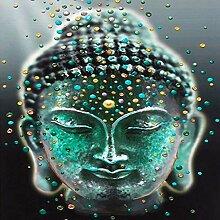 GYK Boutique Buddha Bild Diamantmalerei, 20x20cm