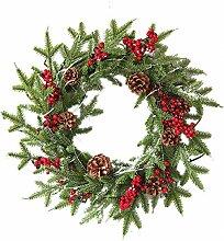 GYK Boutique Weihnachtskranz Geschenk 60cm