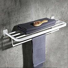 GYM Wandmontiertes Badregal Duschraum aus Metall