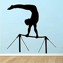 Gymnastik Reck Wandtattoos Sport Wandaufkleber