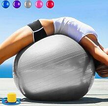 Gymnastikball Pilates Ball 75 cm inkl. Pumpe