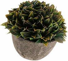 Gymqian Künstliche Gefälschte Kunststoffblume