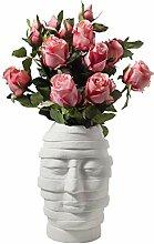 Gymqian Künstliche Hortensie Kunst Vase