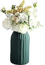 Gymqian Künstliche Hortensie Morandi Vase