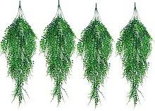 Gymqian Künstliche Pflanzen Künstliche Hängende