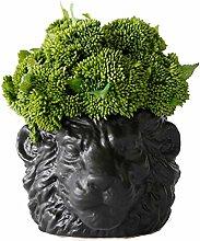 Gymqian Künstliche Potte Künstliche Pflanzen Mit