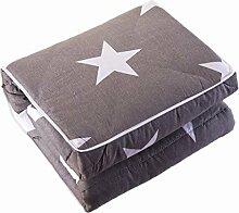 GYP Auto Heimkissen Quilt Dual Use Kissen schützen die Taille Baumwolle Sofa Büro Fold Lendenwirbel Bett Supplies Kissen Quilt Rückenlehne Lendenwirbel kaufen ( Farbe : #4 , größe : 110*155CM )