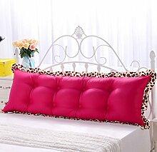 GYP Baumwolle Bettseite Bett Große Kissen Überdimensional Liebhaber Lordosenstütze Doppelt Kissen Rückenpolster Rückenlehne Soft Case Spezialangebot kaufen ( Farbe : #3 , größe : 90*45*10CM )