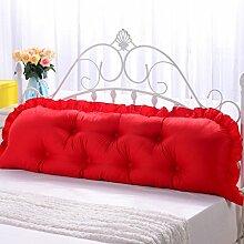 GYP Baumwolle Fancy Bedside Big Kissen Bett Sofa Oversized Paar Lendenwirbelsäule Doppelkissen Rückenlehne Rückenlehne Soft Case Sonderangebot kaufen ( Farbe : #3 , größe : 110*45*10CM )
