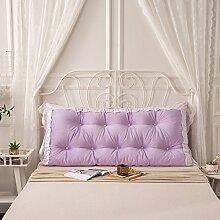 GYP Bett Kissen, große Rückenlehne Große kissen Bett kissen Sofa Schützen den hals Schützen die taille kissen 120 * 75 cm kaufen ( Farbe : #3 )