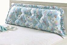 GYP Bett Sofa Big Kissen Baumwolle Doppel Lange Kissen Kissen Rückenlehne Core Lendenwirbel Taille Pad kaufen ( Farbe : #2 , größe : 110CM )