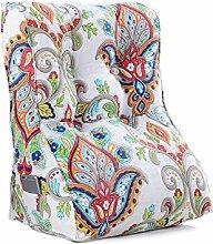 GYP Dreieck Kissen, Bedside Kissen Sofa Kissen Taille Pad Rückenlehne Büro Taille Kissen Bett Pad Neckguard Kissen 45-55cm kaufen ( Farbe : #4 , größe : 45*30*55CM )