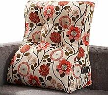 GYP Dreieck Kissen, Schlafzimmer Bedside Kissen Büro Taille Kissen Bett Pad Sofa Kissen Taille Pad Rückenlehne Hals Kissen 45-60cm kaufen ( Farbe : #3 , größe : 45*55CM )