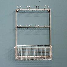 GYP Eisen-Wand-Regal-Multifunktionshaken-WC-Regale