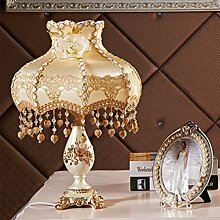 GYP Feine Spitze Stoff Tischlampe Kreative Lampe
