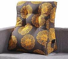 GYP Gedrucktes Dreieck Kissen, Schlafzimmer Nachttisch Sofa Kissen Kissen Taille Auflage Büro Taille Kissen Rückenlehne Hals Kissen Kissen Bett Pad 45-55cm kaufen ( Farbe : #3 , größe : 45*55CM )