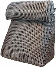 GYP Kopf Kissen Dreieck Breathable Sofa Kissen, Schlafzimmer Nachttisch Sofa Kissen Taille Wache Kissen Taille Pad Büro Taille Kissen Rückenlehne Schwangere Kissen Bett Pad 40-60cm kaufen ( Farbe : #3 , größe : 60*22*50CM )