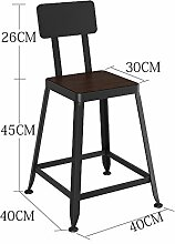GYP Massivholz Bar Hocker Bar Stuhl, Empfang Restaurant Stuhl Stuhl Stuhl Stuhl Stuhl Stuhl Stuhl Stuhl Stuhl Stuhl Stuhl Stuhl Stuhl Stuhl Stuhl Stuhl Stuhl Stuhl Stuhl Stuhl Stuhl Stuhl Stuhl kaufen ( Farbe : #2 , größe : 45 cm )