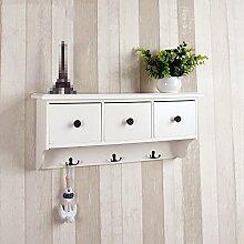 GYP Massivholz-Racks, Schindel-Aufbewahrungsregal Rack-Aufbewahrungsregale Kleiderständer Schrankwände Holz Einfache 60 * 24 * 14cm kaufen ( Farbe : #1 )